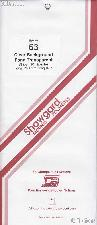 Showgard Strip Style Clear Stamp Mounts Size 63