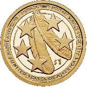 2021-S Native American Dollar GEM PROOF 2021 Sacagawea Dollar SAC