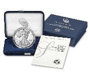 2021 Silver Eagle PROOF In Box with COA (Type 1, original design) 2021-W American Silver Eagle Dollar Proof
