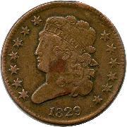 Cull Classic Head Half Cent