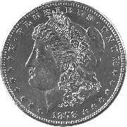 1878-S XF Morgan Silver Dollar