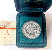 2000 1 oz .999 Silver Proof Kookaburra Sydney Olympics Coin in Box with COA