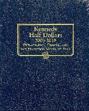 Kennedy Half Dollars 03-18 Whitman Classic Album #1974