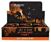 MTG Innistrad: Midnight Hunt - Magic the Gathering SET Booster Factory Sealed Box