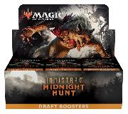 MTG Innistrad: Midnight Hunt - Magic the Gathering DRAFT Booster Factory Sealed Box