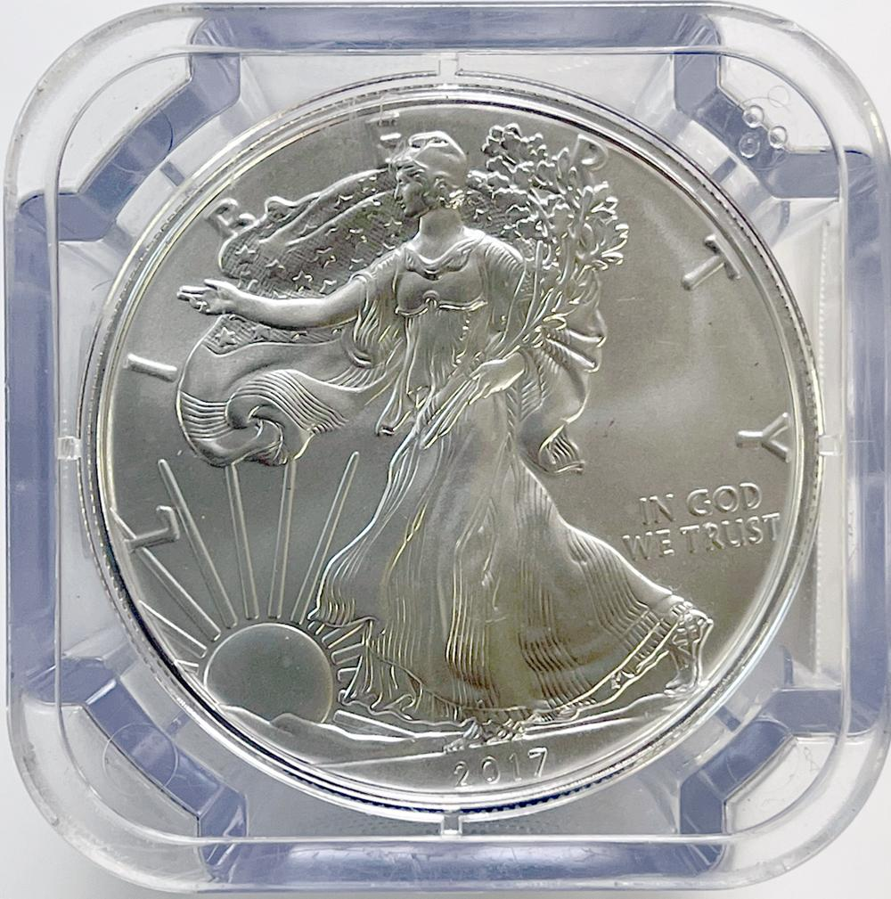 2017 (S) American Silver Eagle ROLL- NGC GEM UNCIRCULATED Struck at San Francisco Mint