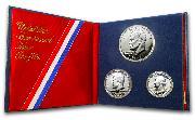1976 U.S. Proof Set - Bicentennial Silver 3 Coins