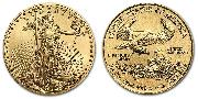 2021 $5 GOLD American Eagle Coin 1/10th Ounce TYPE 1